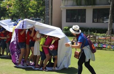 TƯNG BỪNG NGÀY NGOẠI KHÓA AMA SUMMER FANTASY 2017-TẠI NHÀ HÀNG CHÂU Á COCOBAY HOLLY PIG