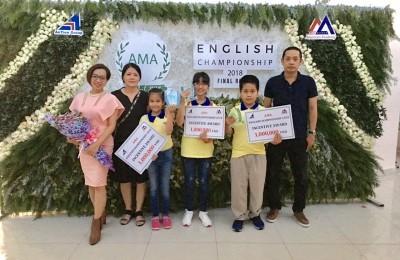 AMA English Championship 2018 vòng chung kết toàn quốc tại Thành Phố Đà Lạt