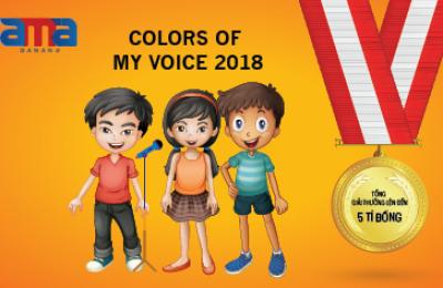 "Cuộc thi tài năng tiếng anh "" Color of my voice"""