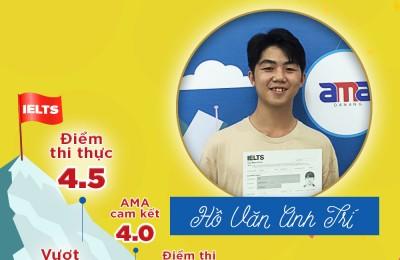Hồ Văn Anh Trí  - IELTS 4.5