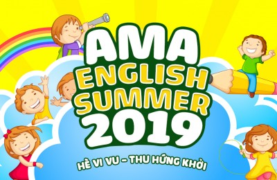 Làm việc nhóm và thuyết trình bằng Tiếng Anh về chủ đề Bảo vệ môi trường  AMA ENGLISH SUMMER 2019
