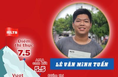 LÊ VĂN MINH TUẤN - IELTS 7.5