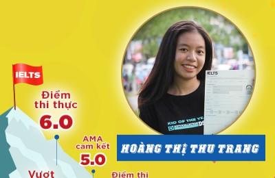 HOÀNG THỊ THU TRANG - IELTS 6.0