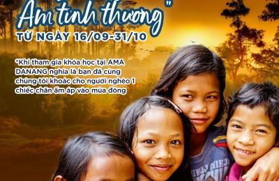 Chương trình từ thiện: ĐÔNG KHÔNG LẠNH - ẤM TÌNH THƯƠNG