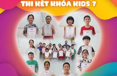 THI KẾT KHÓA KIDS 7