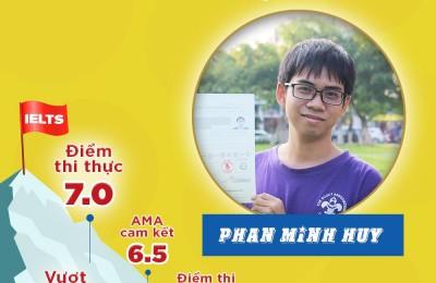 PHAN MINH HUY - IELTS 7.0