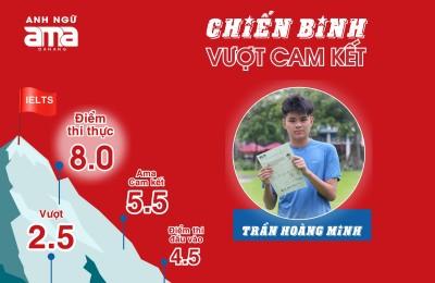 TRẦN HOÀNG MINH - IELTS 8.0